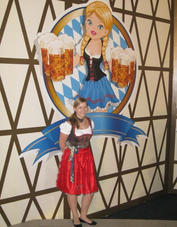 Oktoberfest Dubai 2012 @ Grand Hyatt Dubai - Dirndl