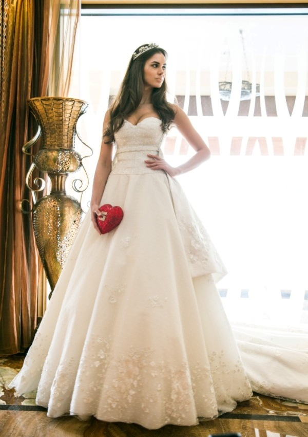 BRIDE Abu Dhabi Designer Wedding Dress