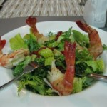 Ain Al Faida 18 Oz Burger Joint Jumbo Prawn Salad