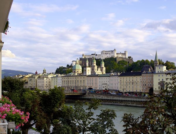 2 hours in Salzburg - View from Hotel Sacher
